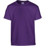 Heavy cotton™classic fit youth t-shirt purple '5/6 (s)