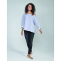 Flash Dance Sweat, Heather Grey Melange, S, MTS