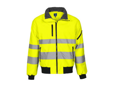 6430 pilot jacket HV CL3 Orange XXXL