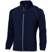 Drop Shot fleece heren jack met ritssluiting