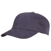 Brushed Turned Top Kids Cap Navy