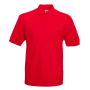 65/35 Pocket Polo, Red, XXL, FOL