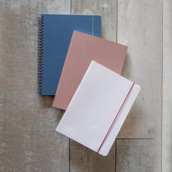 Eco notebooks made from agricultural and organic waste -  softcover small