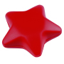 Anti-stress ster STARLET - rood