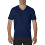Gildan T-shirt Premium Cotton V-Neck SS for him Navy XXL