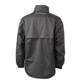 Men's Windbreaker - zwart/zilver