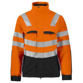 PROJOB 6415 JACKET HV ORANGE/BLACK XS