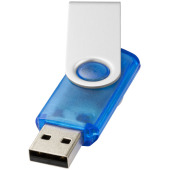 Rotate-translucent USB 4 GB