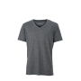 Men's Heather T-Shirt zwart-melange
