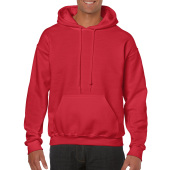 Gildan Sweater Hooded HeavyBlend for him Red 5XL