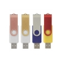 USB stick 2.0 Twister 16GB combinatie