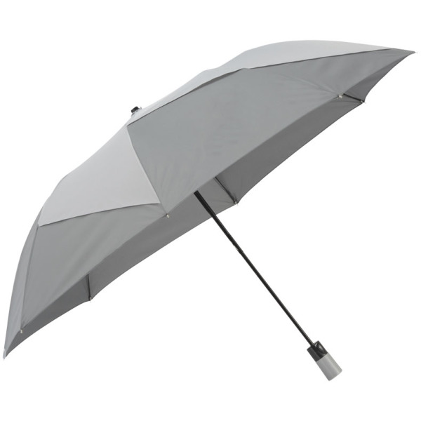 "23"" Pinwheel 2-section auto open vented umbrella"