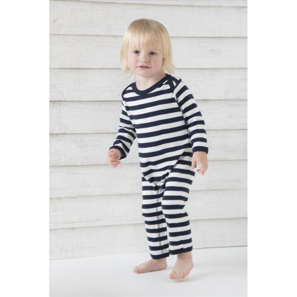 BabyBugz Baby Stripy Rompersuit
