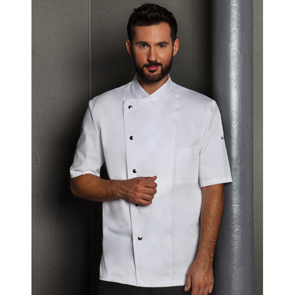 Chef Jacket Gustav Short Sleeve
