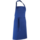 Colours bib apron royal blue one size