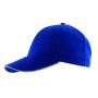 5 panel baseball cap LIBERTY - blauw