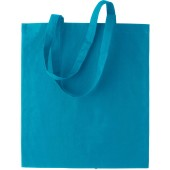 Basic shopper turquoise one size