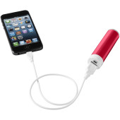 Dash powerbank 2200mAh - Rood