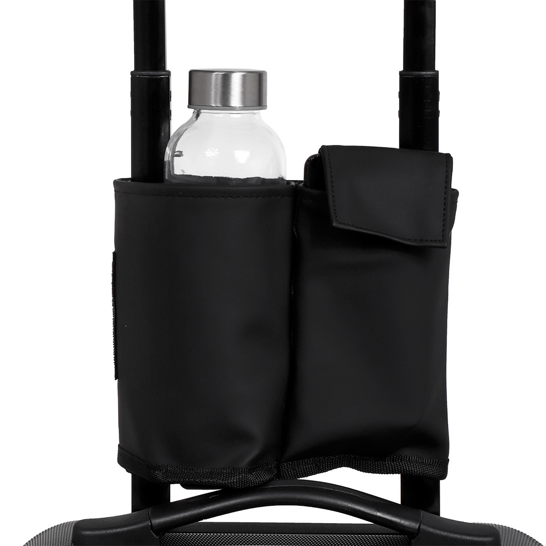 Norländer Trolley Bottle Sleeve Dull PU Black