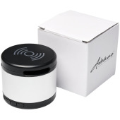 Jones metalen Bluetooth®  speaker met draadloos oplaadstation
