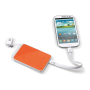 Powerbank 3 in 1 3000mAh wit / oranje