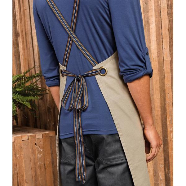 Interchangeable Cross Back Apron Straps