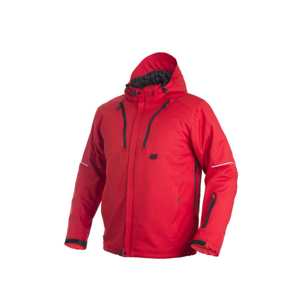 3407 3 LAYER PADDED JACKET RED XS