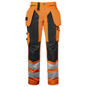 PROJOB 6519 PANTS HV LADY ORANGE/BLACK 46