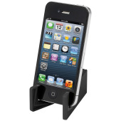 Slim device stand for tablets and smartphones
