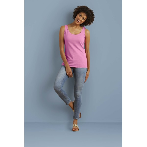 Softstyle® fitted ladies' tank top