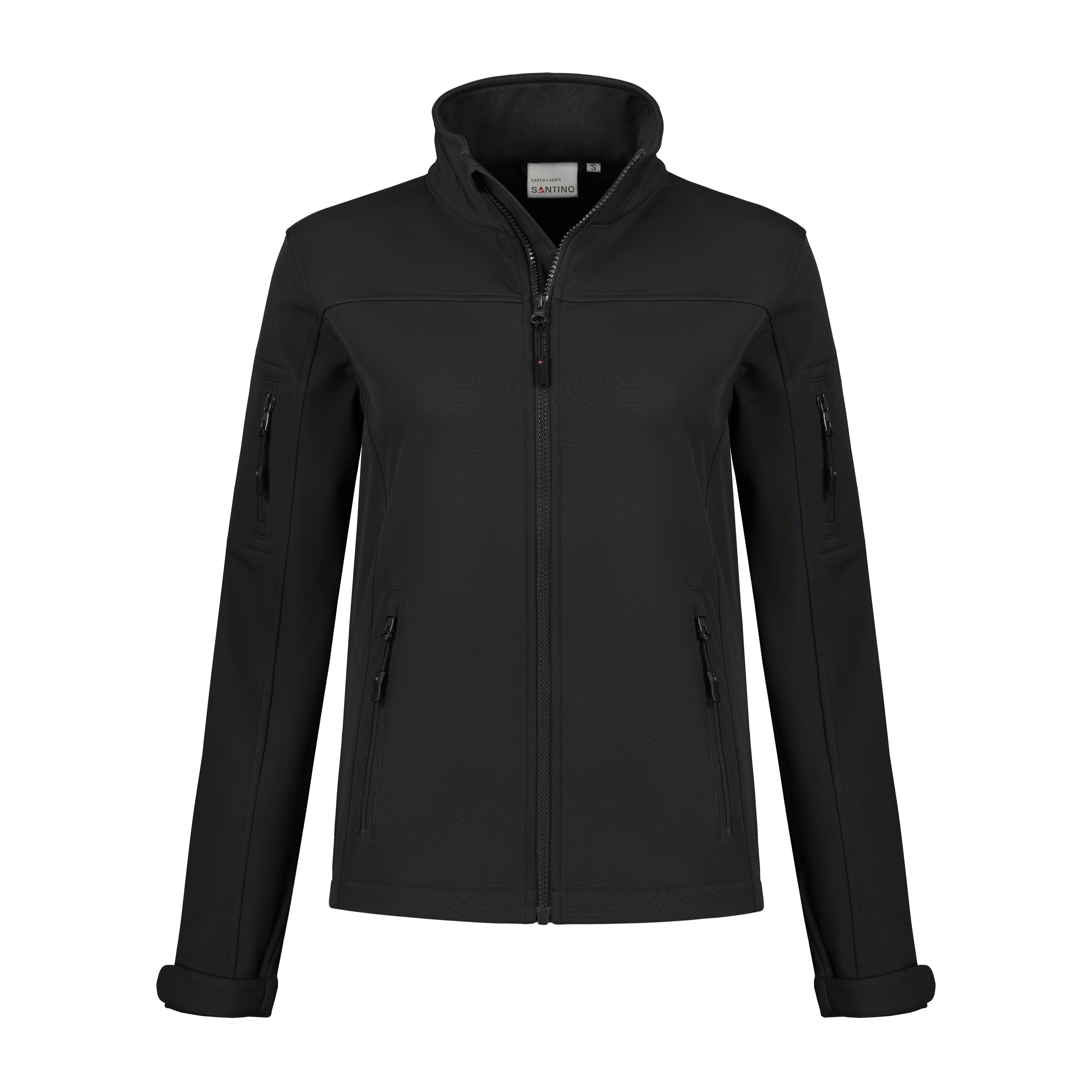 SANTINO Softshell Jacket Santo Ladies Black L