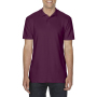 Gildan Polo Softstyle Double Pique SS for him Maroon 3XL