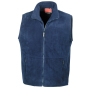 Active Fleece Bodywarmer XS Navy