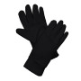 Fleece handschoenen black s/m