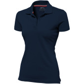 Advantage dames polo met korte mouwen - Navy - XL