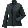 Ladies' softshell jacket titanium l