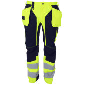 PROJOB 6513 PANTS HV YELLOW C156