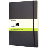 Classic XL soft cover notitieboek - effen