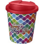 Brite-Americano Espresso® 250 ml with spill-proof lid - White/Red