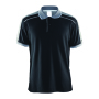 Craft Noble polo pique shirt men black/d.grey 4xl
