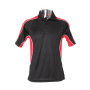 Active Polo Shirt L Black/Red