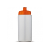Sportbidon Basic 500ml transparant oranje