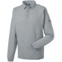 Heavy duty collar sweatshirt light oxford 4xl