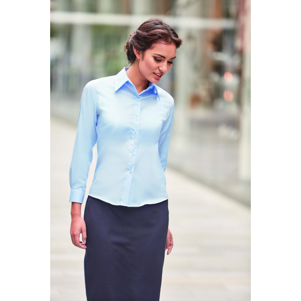 Ladies Longssleeve Ultimate Non-Iron Shirt