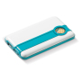 Powerbank Retro 3800mAh licht blauw / wit