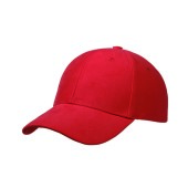 Ultimate Heavy Brushed Cap Rood