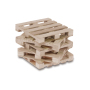Pallet kubusb. incl. montage hout