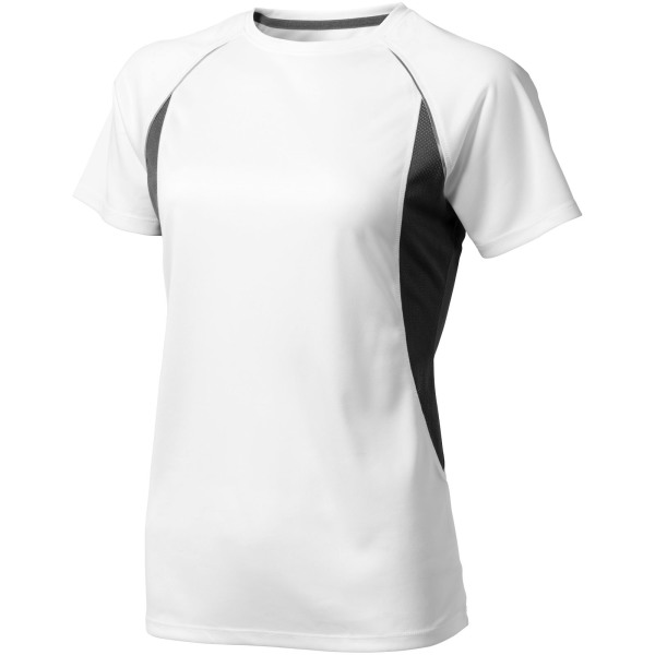 Quebec cool fit dames t-shirt met korte mouwen