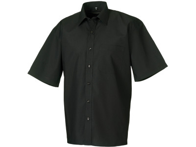 Men's ss polycotton poplin shirt