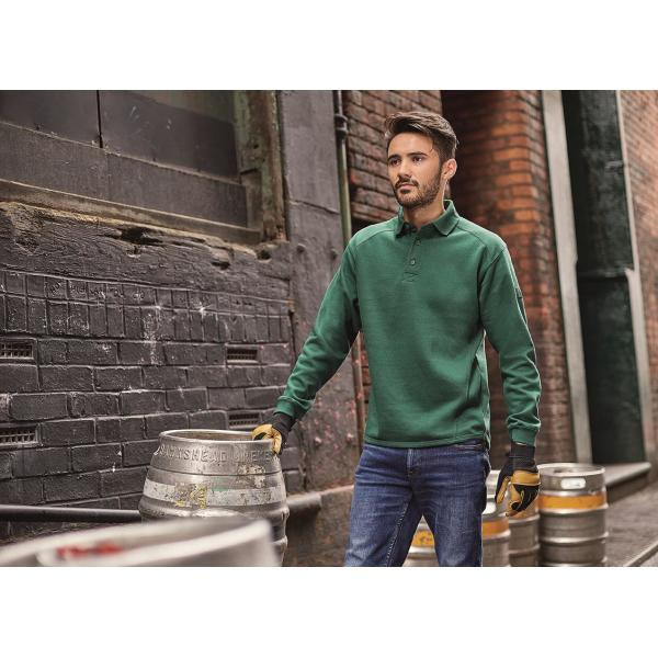 Heavy Duty Workwear Collar Sweatshirt